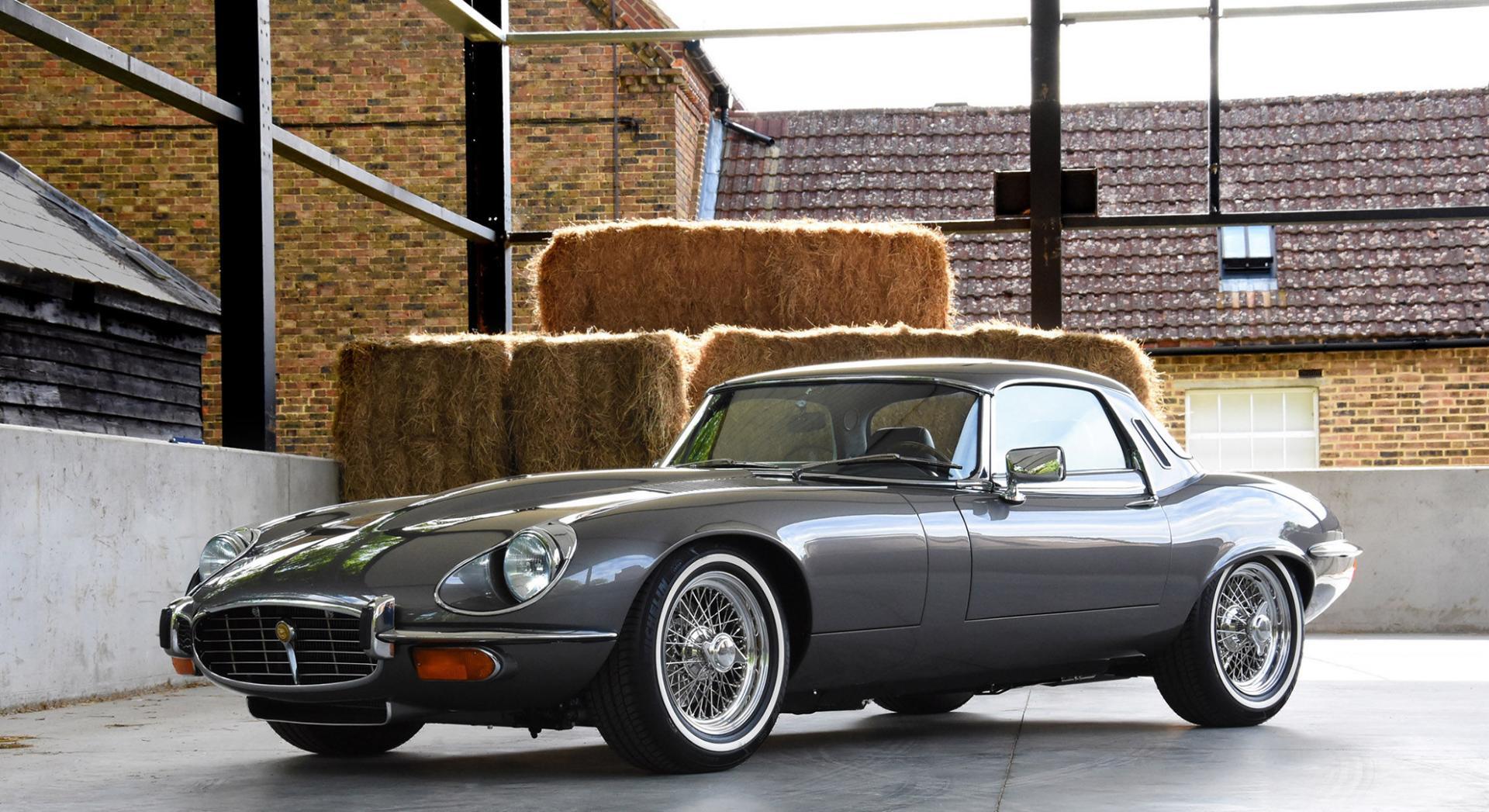Votre voiture de collection anglaise jaguar type e avec Bretagne Roadster