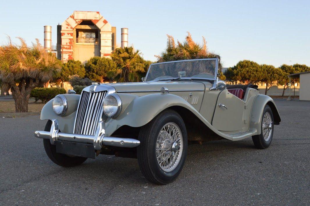 VOTRE CLASSIC CAR MGTF 1954 AVEC BRETAGNE ROADSTER