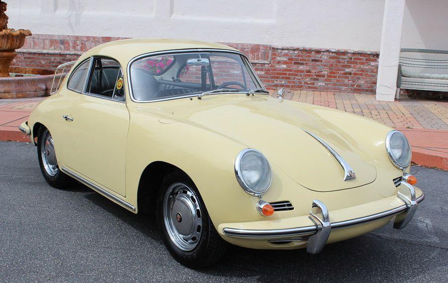 VOTRE CLASSIC CAR PORSCHE 356 C 1965 AVEC BRETAGNE ROADSTER