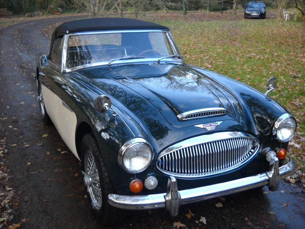 VOTRE CLASSIC CAR AUSTIN HEALEY MKIII 1967 AVEC BRETAGNE ROADDSTER