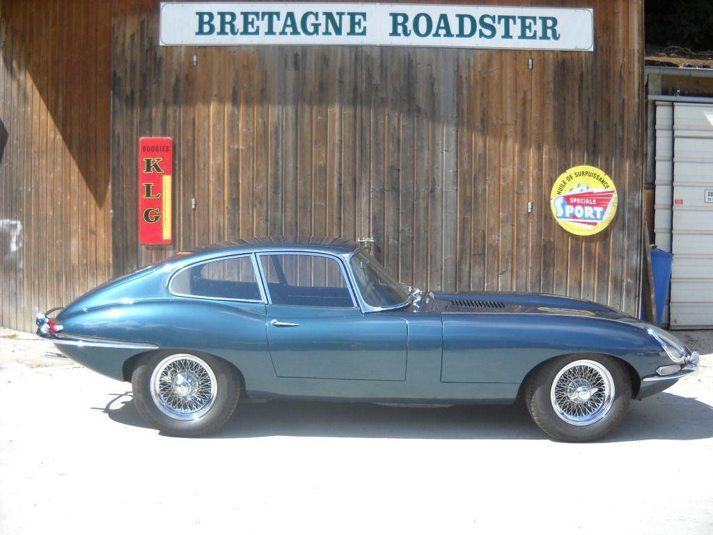 VOTRE CLASSIC CAR JAGUAR TYPE E SERIE 1 AVEC BRETAGNE ROADSTER