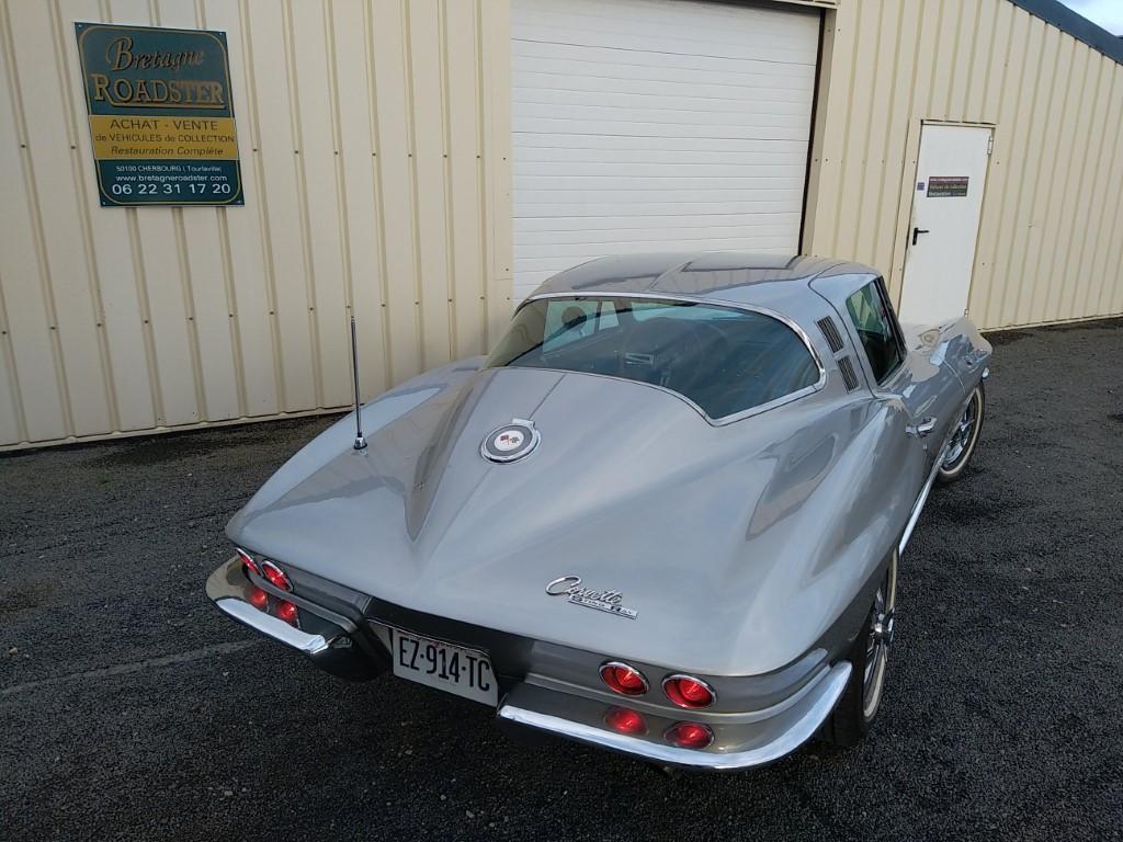 Votre voiture de collection Corvette C2 coupee Sting Ray 1964 avec Bretagne Roadster